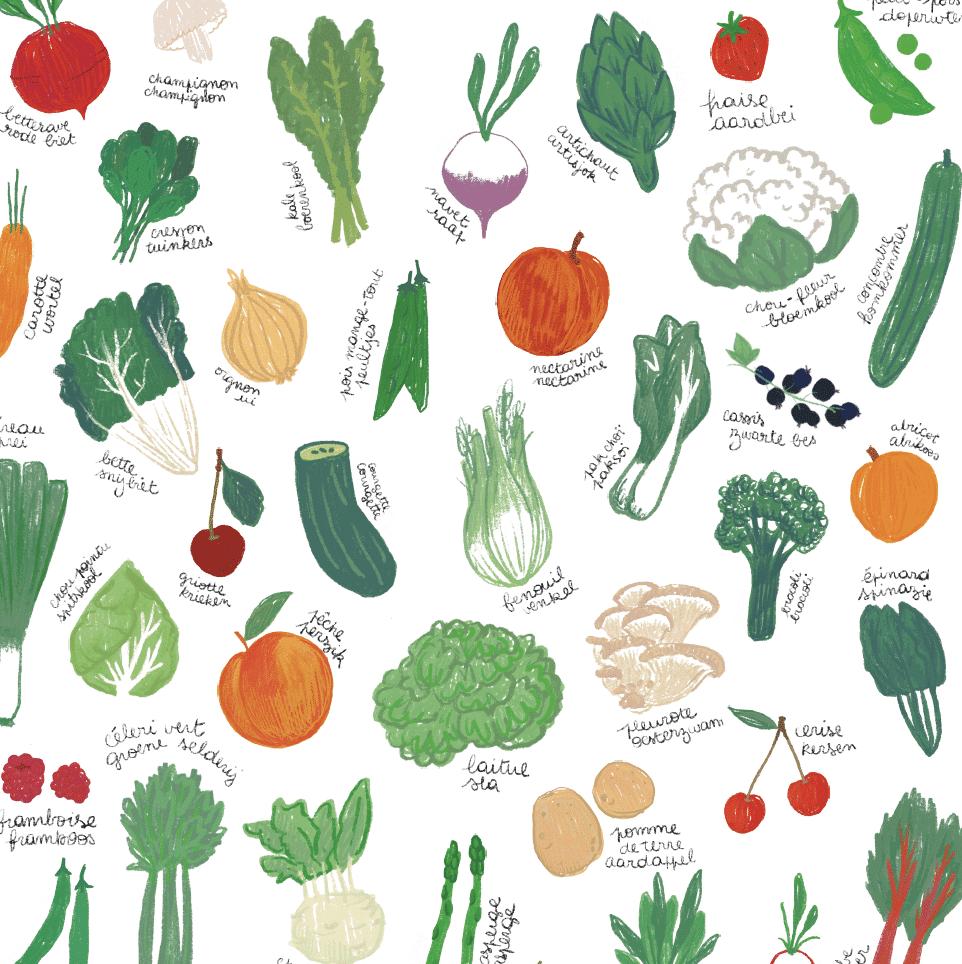 Calendrier Fruits Legumes.Calendrier Des Fruits Et Legumes De Saison Belge Farm
